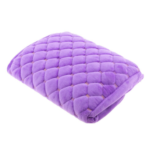 Purple Windproof Motorcycle Scooter Moped Seat Cover Protector Cushion M
