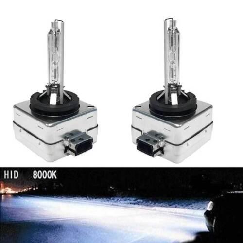 2Pcs D1S HID Xenon Bulbs OEM Replacement Direct Factory  8000K 6000K 10000K
