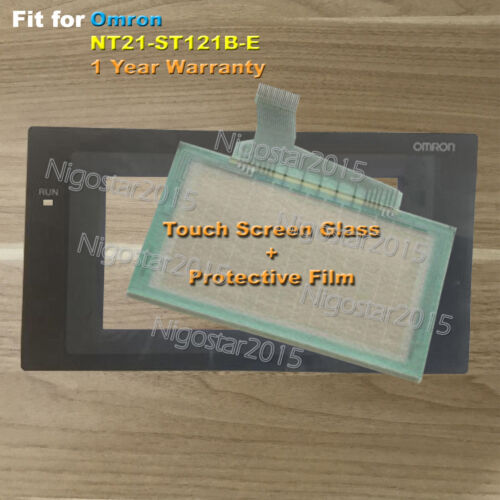 Para Omron NT21-ST121B-E Pantalla Táctil Vidrio Con Película Protectora 1 Año De Garantía