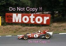 Clay Regazzoni Ferrari 312 B British Grand Prix 1970 Photograph