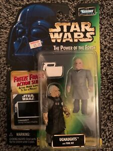 Star Wars Power of the Force Ugnaughts with Tool Kit POTF Freeze Frame