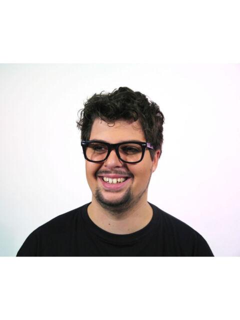 Brillengestell schwarz Karneval Fasching Brille Arzt