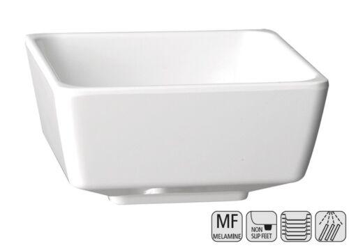 """quadratisch Serie /""""FLOAT/"""" Farbe und Größe wählbar rutschfest Melamin Schale"""