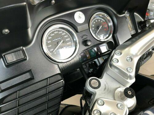 Bmw R 1100 RT  R1100RT    2 Tacho Ringe Teilig  Aluminium  Tachoringe