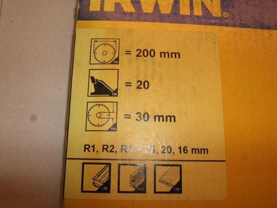 Savklinge, IRWIN / TCT