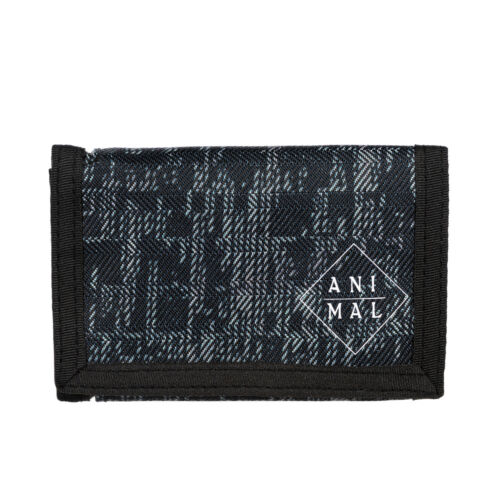 ANIMAL MENS WALLET.NEW ENRAGED BLACK COIN CREDIT CARD MONEY NOTE PURSE 8W 7 639
