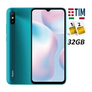 XIAOMI REDMI 9AT DUAL SIM 32GB GREEN GARANZIA ITALIA BRAND TIM