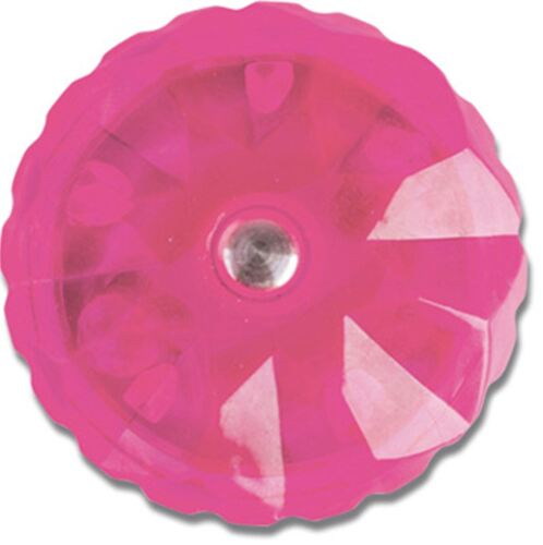 Twist Ring Bicycle Cycling carded Adie Pink Crystal Kids Girls Bike Bell
