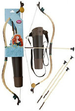 Disney Store Brave Merida Archery Bow Arrow Quiver Costume Accessories Set NEW