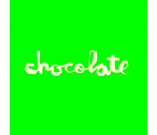 Chocolate Skateboards Green Skateboard Sticker skate snow surf board bmx guitar