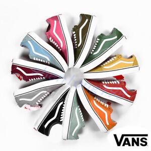 Neu-Van-s-Old-Skool-Damen-Herren-Canvas-niedrig-Sneaker-Skate-Schuhe-EUR-35-44