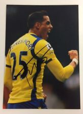 A 7 x 5 inch photo personally signed by Ramiro Funes Mori playing for Everton.