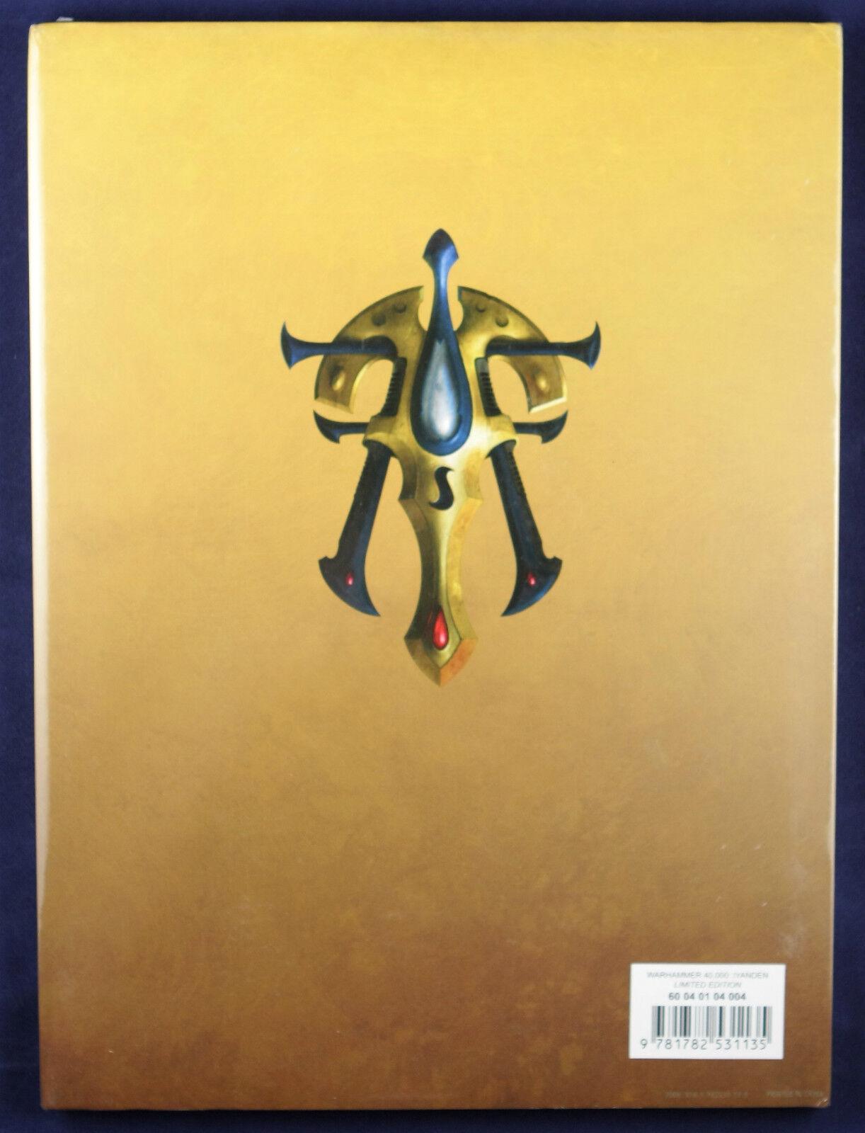Eldar Eldar Eldar Iyanden Limited Edition Codex Warhammer 40k ISBN 978-178253113-5 fea3a1