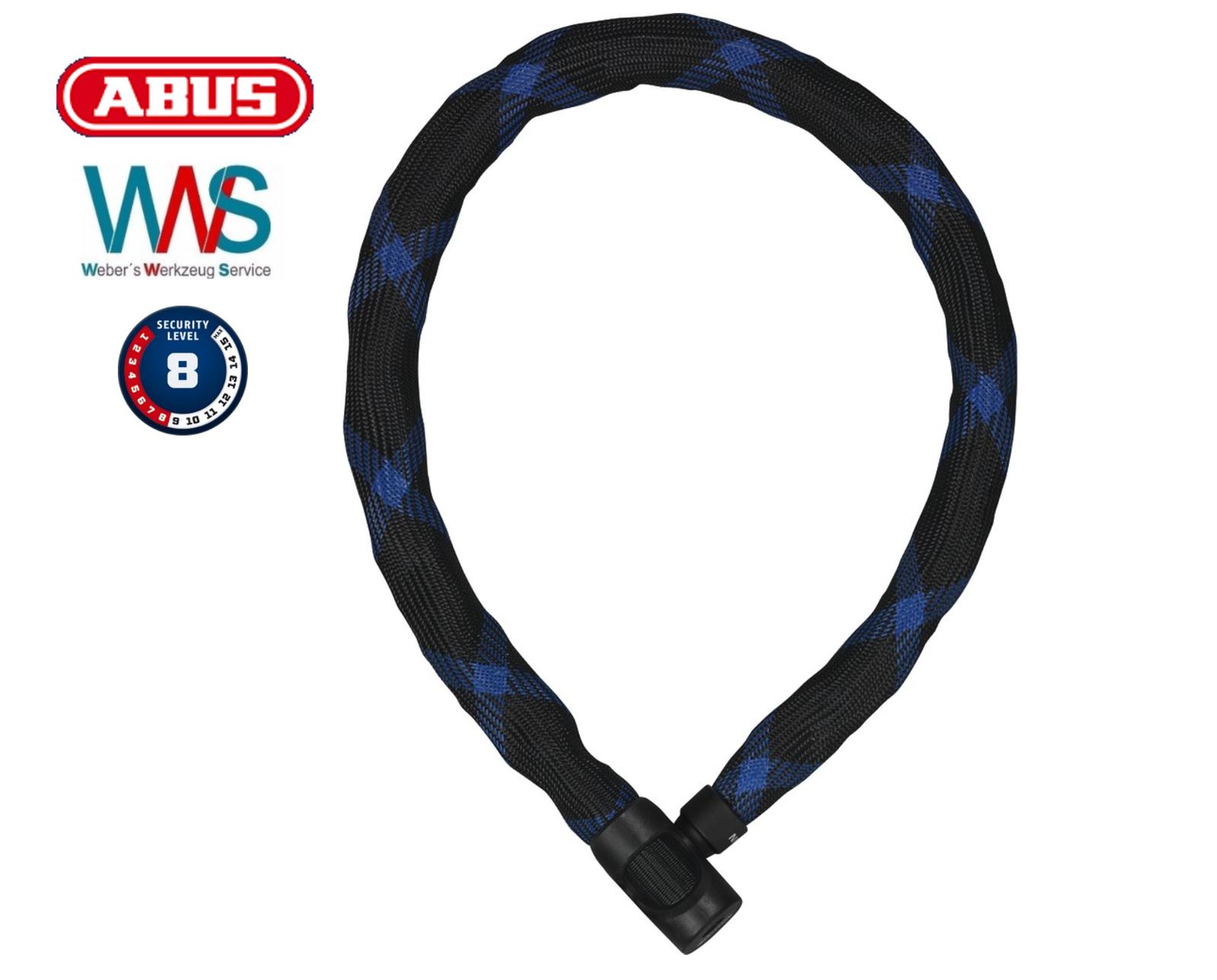 ABUS ABUS ABUS Kettenschloss Ivera Chain 7210 110cm NEU ae5252