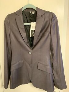 NWT $325 K Karl Lagerfeld Mathilde Badic Blazer Jacket Size XS/38