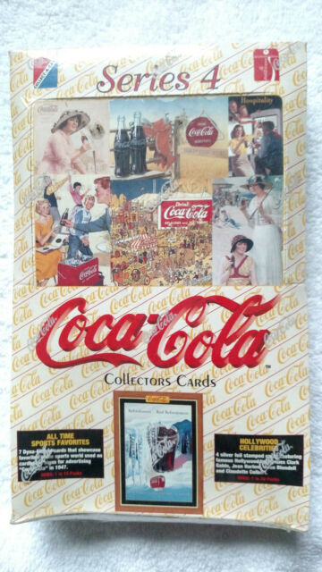 FREE SHIPPING Series 2 Coca-Cola Collector Cards Pack