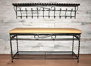 de forja ganchos estante el del los mano regalo de forjada en estante montada acero capa a la del aduana La única pared TWZvwCxqn7
