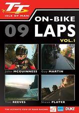 Isle of Man TT 2009 - On Bike Laps Volume 1 (New DVD) Guy Martin John McGuinness