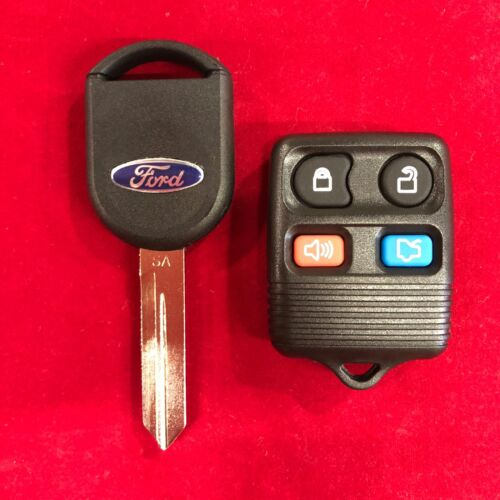 New OEM FoMoCo Ford 4 Button Remote and Key Combo 164-R8040 8S4Z-15K601A