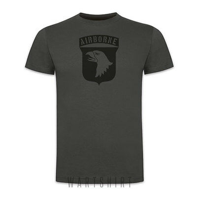 101st Airborne T-shirt Screaming Eagle D-day Normandy Battle Ww2 - Wartshirt