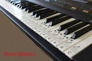Music-Keyboard-or-Piano-Stickers-upto-a-full-88-KEY-SET-LAMINATED-clear-stickers