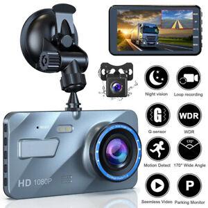 4-034-2-5D-HD-1080P-Dual-Lens-Car-DVR-Video-Recorder-Dash-Cam-G-Sensor-Rear-Camera
