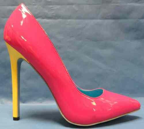 Hottie Shoes Pump Heel 80/'s Retro Halloween Adult Costume Accessory 3 COLORS