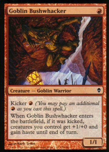 Goblin Bushwhacker FOILNMZendikarMagic MTG