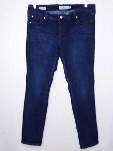 Blue Pants Size Boyfriend Inseam Stretchy Torrid 30 16r Indigo Plus Jeans CHSqY