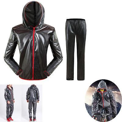 Men Women Windproof Waterproof Jacket Bike Bicycle Outdoor Sports Rain Coat New