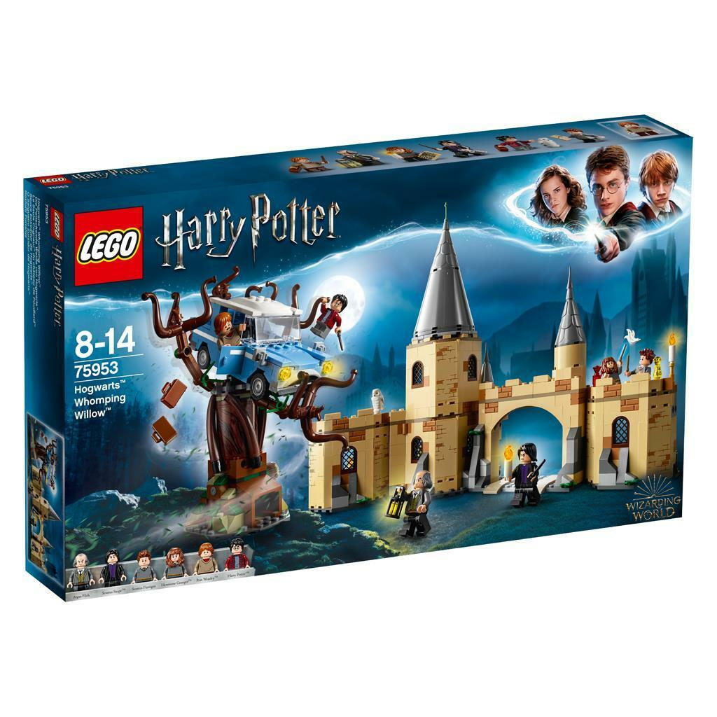 Lego ® Set Harry Potter 75953 la peitschende pâturage de Poudlard