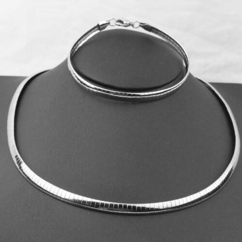 Stainless Steel New Gold Men Women/'s Choker Necklace Jewelry Set Bracelet G5J1