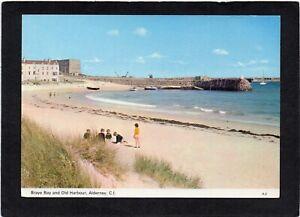 ALDERNEY - Braye Bay and Old Harbour, Channel Islands. Publ:- Guernsey Press.