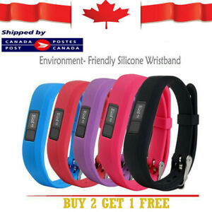 Replacement Soft Silicone Wrist Band for Garmin Vivofit JR wristband