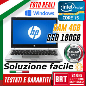 PC-NOTEBOOK-HP-Elitebook-8470p-14-034-CPU-i5-4GB-RAM-SSD-180GB-LICENZA-WIN-10-PRO