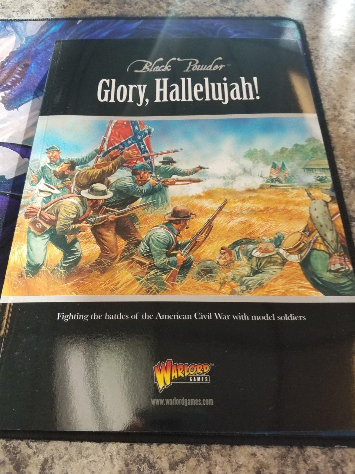 Glory Aleluya  Guerra Civil negro Powder Suplemento Suplemento Suplemento Libro Warlord Games Nuevo  sin mínimo