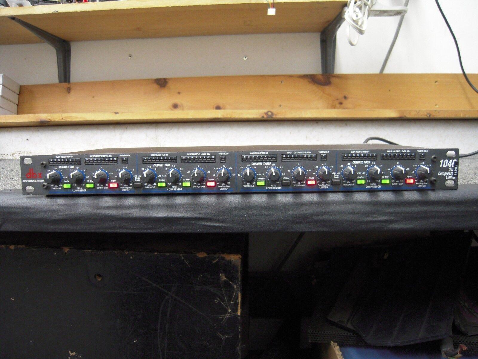 DBX 1046 4 Canales Canales Canales Compresor limitador-Cuatro Canales fdea94