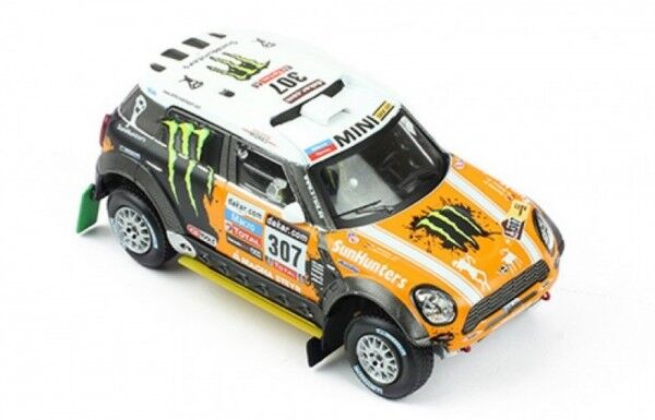 Mini All 4 Racing No.307 3rd Rally Dakar 2013 (Leonid Movitskly - Konstantin ...  | Genialität
