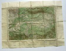 Carte de France au 50.000e AIX -Service  géographique de l'Armée-Type 1922
