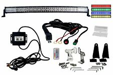"""Curved 40"""" OZ-USA Dimmable red green blue LED Light bar Bluetooth smart phone r"""