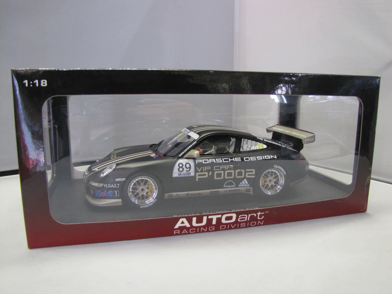 80781 Autoart Porsche 911 GT3 (997) GT3 Cup No. 89 - 1:18