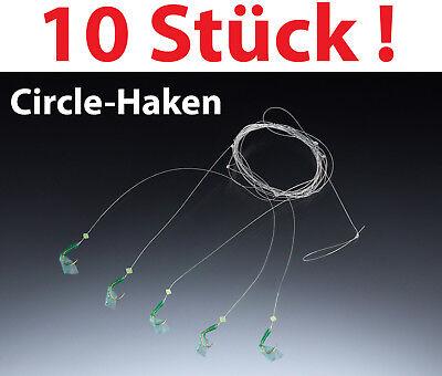 Balzer Heringsvorfach echte Fischhaut 5 Circle Haken luminous Heringspaternoster