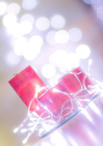 20 White LED AA Battery Fairy Lights Big Fat Gipsy Wedding Party UK Seller