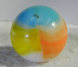 #11266m Vintage Vitro Agate Shooter Marble .87 Inches