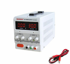 150W-0-30V-0-5A-Variable-Linear-Adjustable-Lab-DC-Bench-Power-Supply-MS-305D
