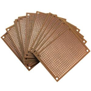 12Pcs-Prototype-Papier-Cuivre-Circuit-Imprime-universelle-Experience-Matrice-Circuit-Board-5x7cm