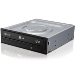 LG GH24NSD1 intern Laufwerk BRENNER für COMPUTER PC SATA RAM /CD / DVD RW 24x