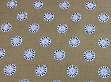 Holm Stripe Panama Cotton Duckegg 140cm wide Oslo  Curtain//Craft Fabric