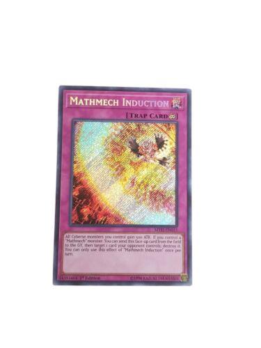 3x Mathmech Induction 1st Edition Secret Rare MYFI-EN013 Yu-Gi-Oh
