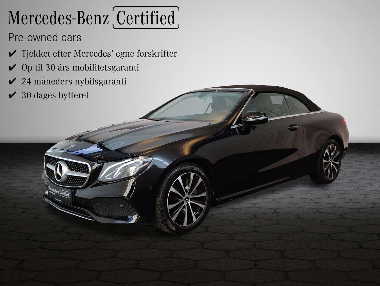 Mercedes E350 2,0 Cabriolet aut. 2d - 819.900 kr.